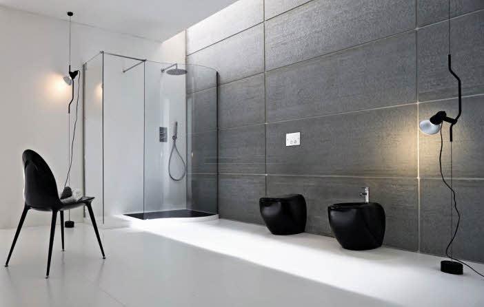 Baño Vintage Moderno:Fotos Diseño Baños Modernos