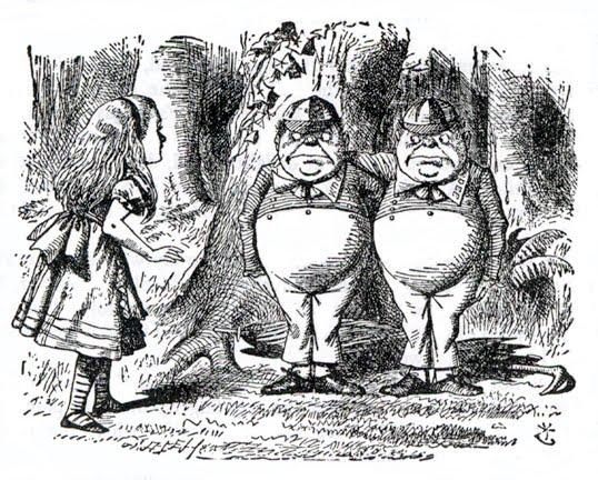 Resultado de imagen para A través del espejo, Lewis Carroll