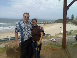 Brian &amp; Erlinet visiting Port Macquarie