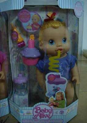 Baby Alive Wets The Bed