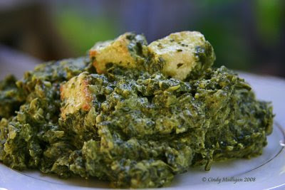 Spinach Indian Dish