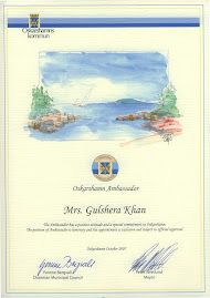 Oskarshamn Ambassador is honorary