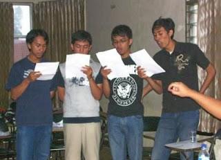 Bass rehearsal, Dec 13., 2007