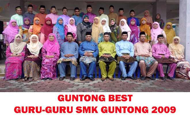 GURU-GURU SMK GUNTONG 2009
