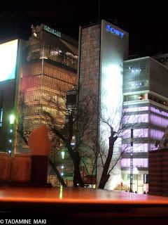 City light, Tokyo sightseeing