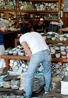 A tableware shop in Tokyo