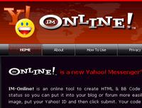 IM-Online! » Yahoo! Messenger's Status Generator