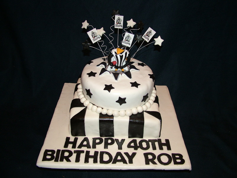 Images Of Collingwood Birthday Cakes