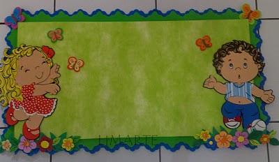 Alfabetiza ao de jovem e adultos modelos para mural for Bordas para mural