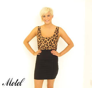Motel Dress on Triple S Clothing  Motel Dress In Animal Print