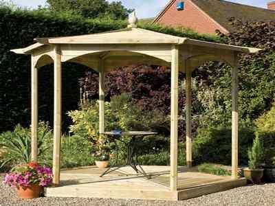 Creaci n jardines for Cenador para jardin
