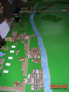 Los pompeyanos abandonan el campamento