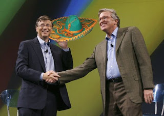 The Passing of El Sombrero Grande -- Bill Gates names Jeff Raikes new CEO of Bill and Melinda Gates Foundation