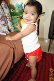 Baby Alya Wearing Red Coolababy