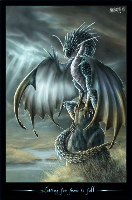 дракон в виде коня