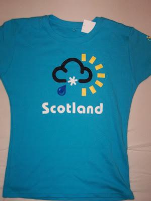 Typisch Schottisches Wetter!