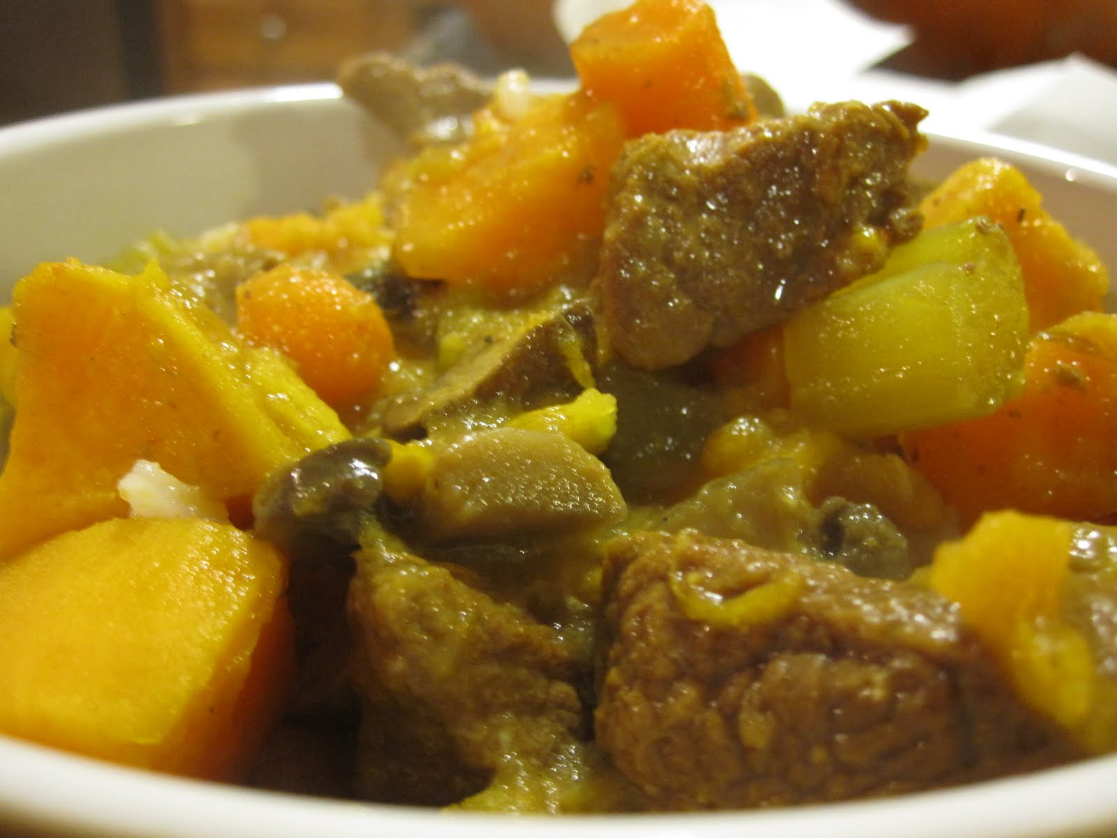 Bowls of Soup: Curried Beef Stew