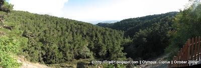 Панорамный вид. Гора Олимпус. Трудос. by TripBY.info