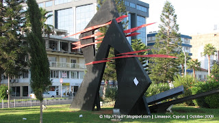 Скульптура в Лимасоле by TripBY
