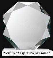 """PREMIO """"ESFUERZO PERSONAL"""""""
