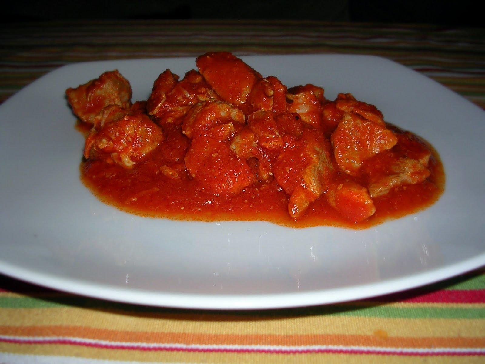 Cocinar Carne Con Tomate | Cocinando Contigo Carne Con Tomate En La Olla Rapida