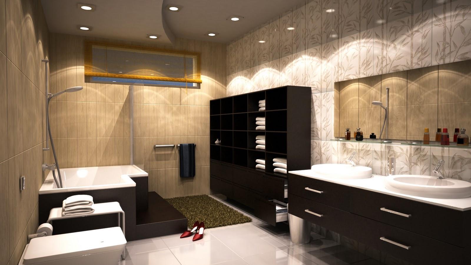 Neste mês de Agosto estou postando duas imagens de banheiro que fiz  #BD880E 1600x900 Banheiro Adaptado Arthur Lima