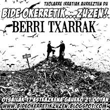 BERRITXARRAK...TALDEAREKIN ELKARRIZKETA