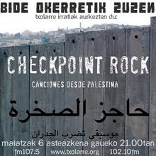 CHECK POINT ROCK MONGRAFIKOA