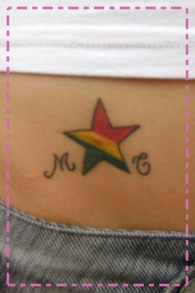 A Tattoo: Femininas Borboletas Eu já tinha feito minha tatuagem c/ as carpas
