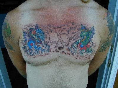dragão-tatuagem-tattoo-peito