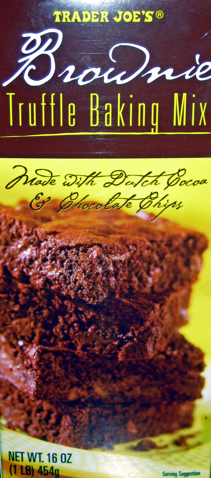 trader joes truffle brownie mix
