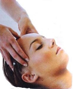 masaje jabonoso cabeza