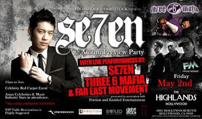 Se7en to perform live in Los Angeles