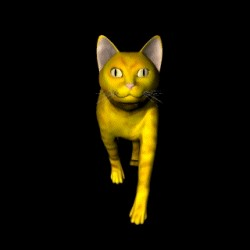 THE CAT - 3D Screensaver - Screensaver Animated - Screensaver Freeware - Screensaver...............