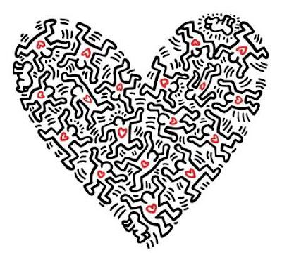 keith haring coeur