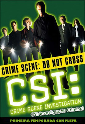 CSI: Investigação Criminal - 1ª Temporada Completa - DVDRip Dual Áudio