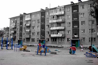 Immeuble à Oulan Bator