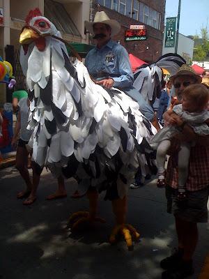 Chicken cowboy