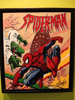 Spidey fightin'