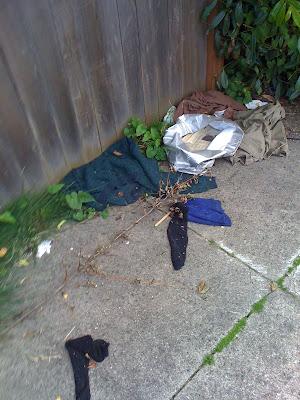 Clothes shrapnel