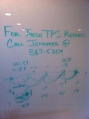 Jenny's TPS reports