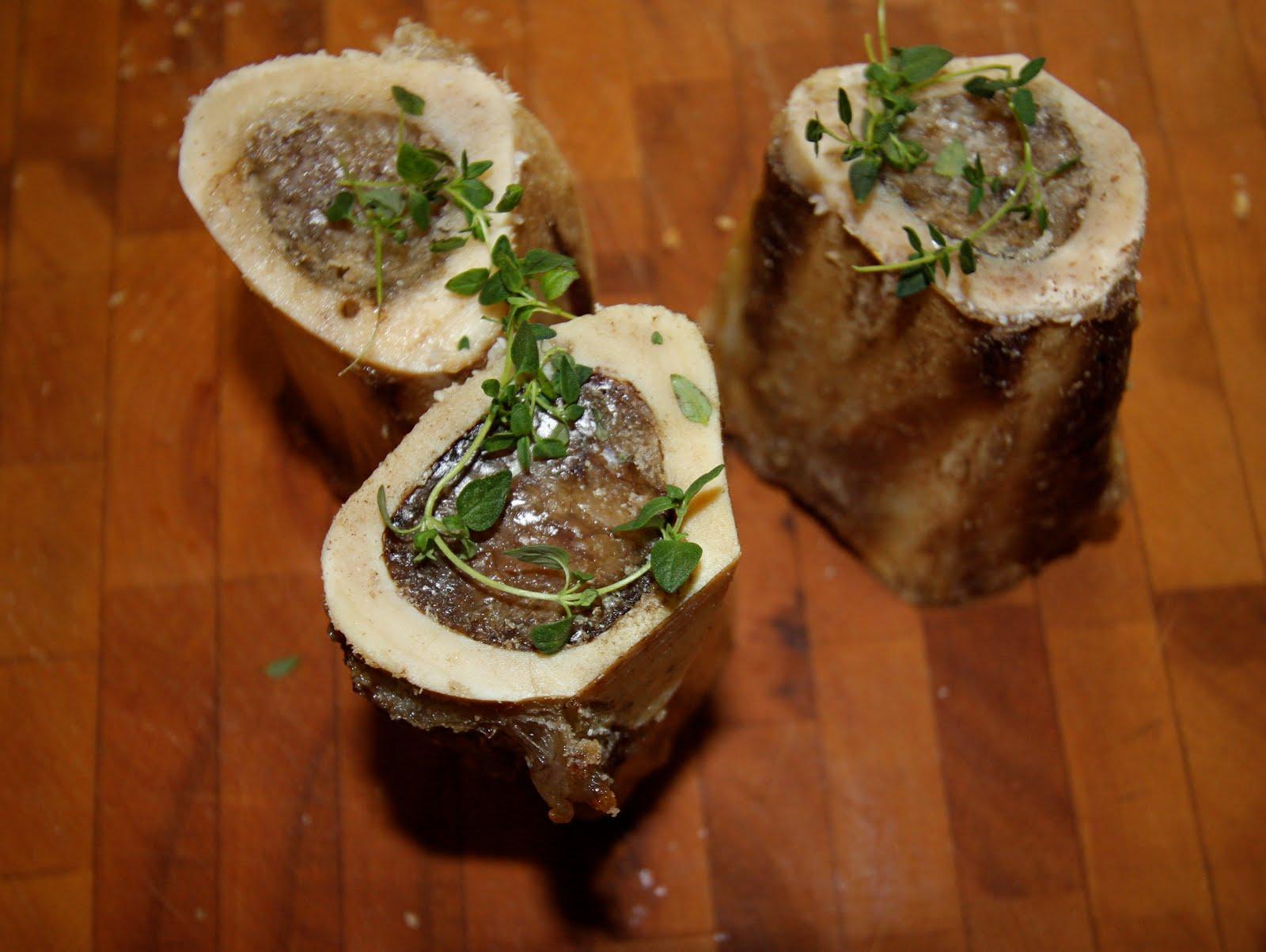 Dine Well: Roasted Bone Marrow