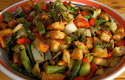 Dine Well: Grilled Vegetable Panzanella