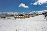 Moreda cubierta de nieve