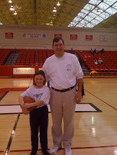 Joe and Clare at Denison Women's Basketball Game!