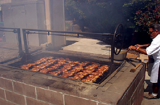 or mani on bbq pits