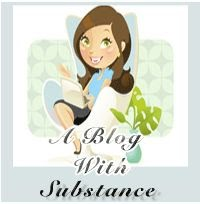 BLOG OF SUBSTANCE