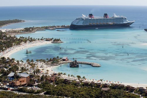 When we went ashore at Castaway Cay, Disney's private island paradise in the ...