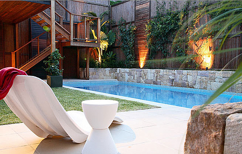 outdoor decorating and gardening pool landscaping ideas