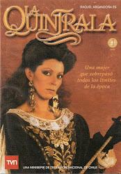 La Quintrala (Miniserie T.V.) 4 DVDs.